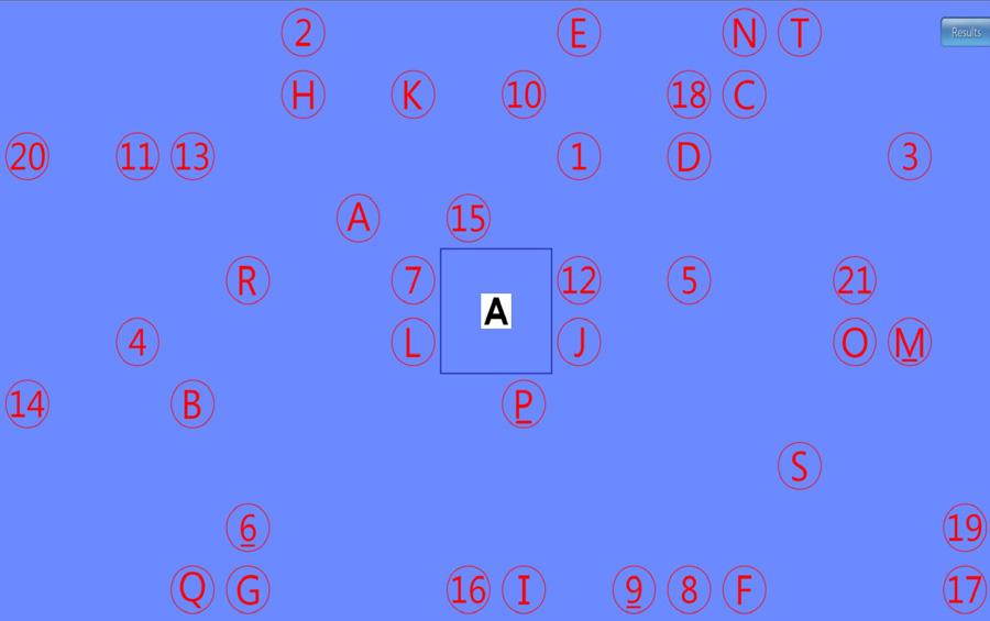 Numbers-Letters/Word-Verbal Saccades