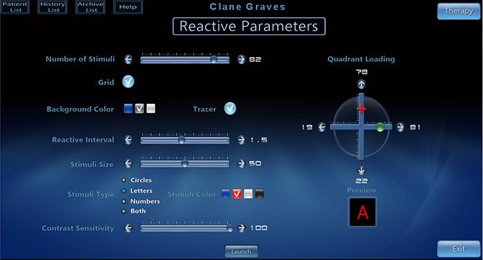 Selectable Parameters